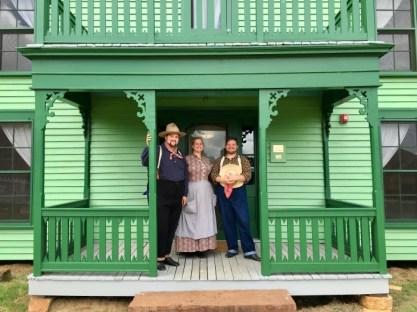 Living History Reenactors Nash Farm Grapevine Texas
