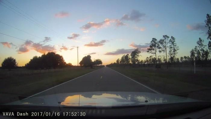 2017 0116 175230 001A - The VAVA Car Dash Cam: A Roadtripper's Best Friend