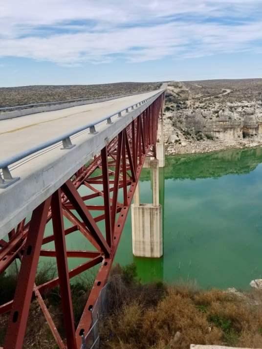 steel bridge across bridge