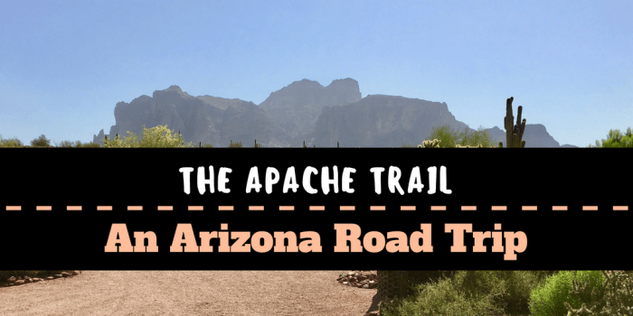 Copy of Pinetop Salt River Canyon Mesa - A Day Trip on the Arizona Apache Trail