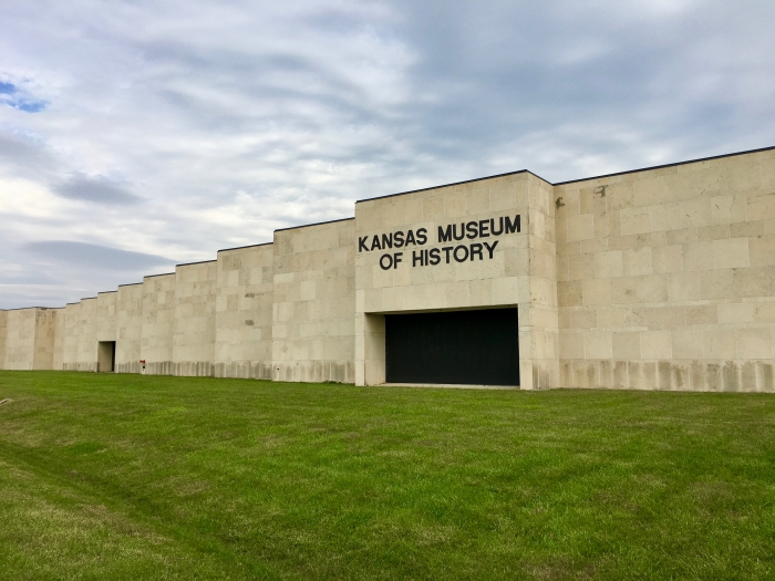 Kansas Museum of History sign - Explore Civil Rights History in Topeka, Kansas: 5+1 Key Sites
