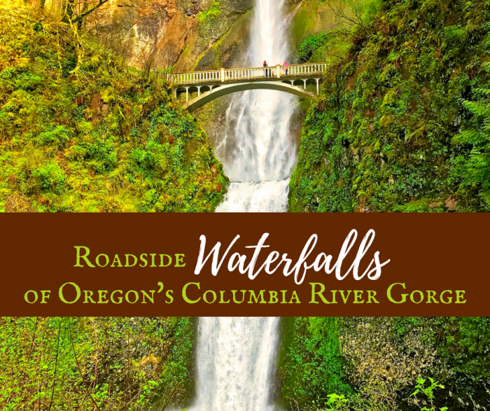 Columbia River Gorge Waterfalls e1506542009915 - How to Plan an Oregon Road Trip