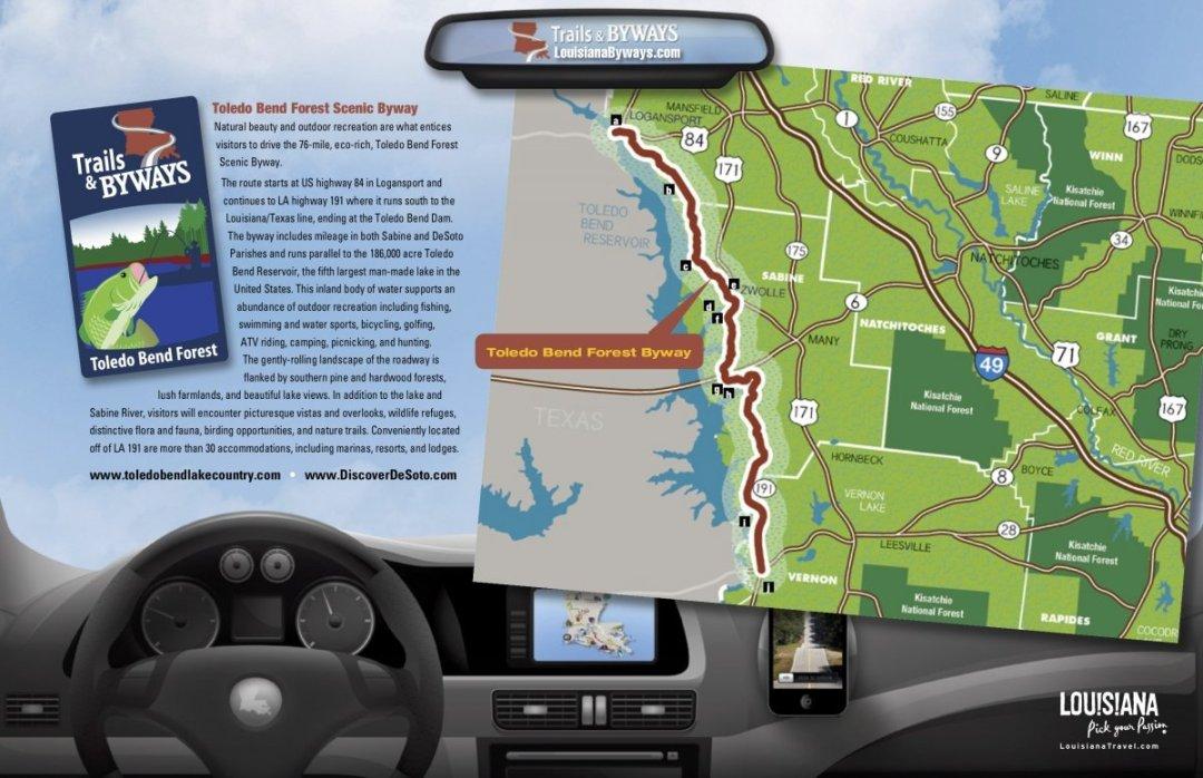 Toledo Bend - Discover Outdoor Adventure at Toledo Bend Lake & Sabine Parish, Louisiana
