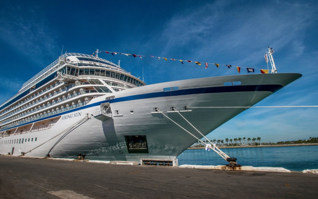 VIKING SUN MIAMI READY FOR WORLD CRUISE  - The Viking Sun Embarks on the Inaugural World Cruise