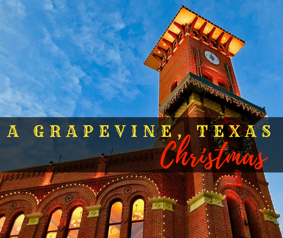 AGrapevineChristmas - Walk through History in Grapevine, Texas