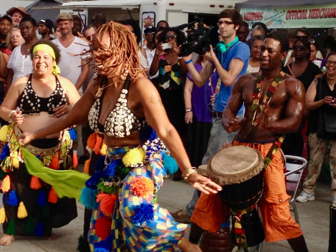 Dancers at Armstrong Park - Uncover the Secrets of New Orleans Neighborhoods
