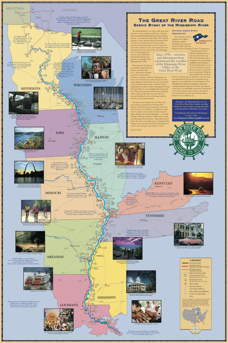 EMR Detailed Map 2006.10.23 - Explore the Rock River Trail through Wisconsin & Illinois