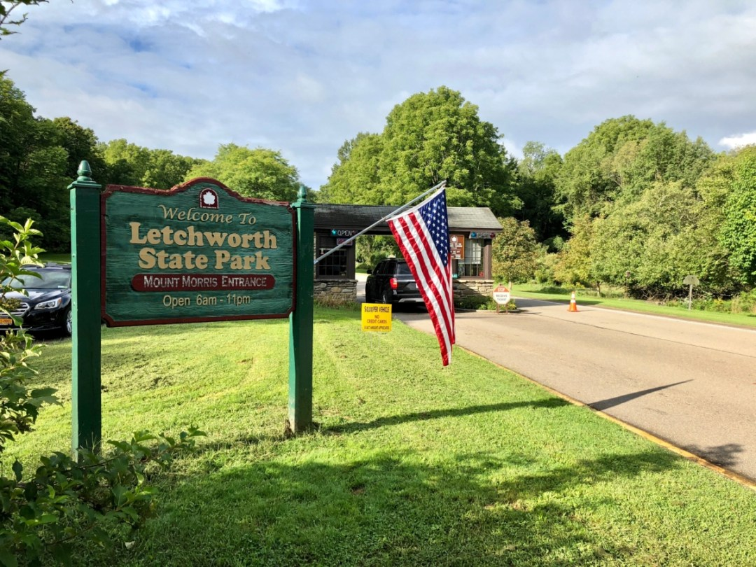 Letchworth entrance - Things to Do in Letchworth State Park