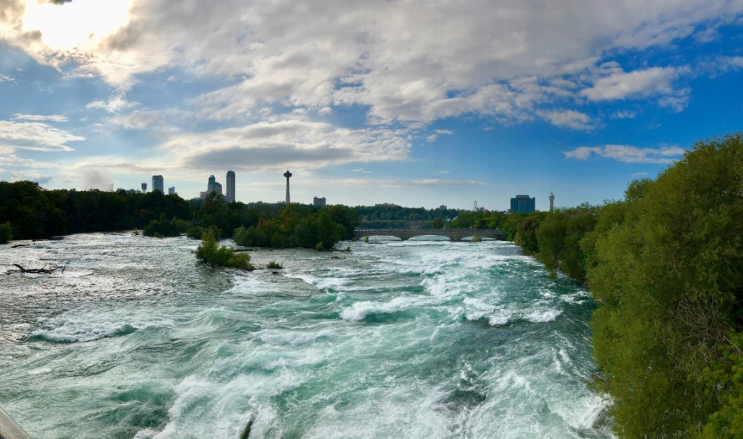 Niagara River above falls - 3 Awe-Inspiring Niagara Falls USA Attractions