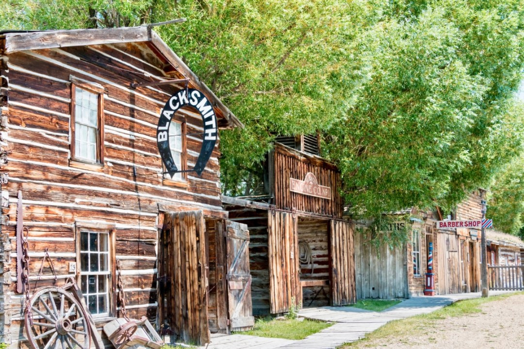 Nevada City Blacksmith - Two Montana Ghost Towns Where the Old West Comes Alive