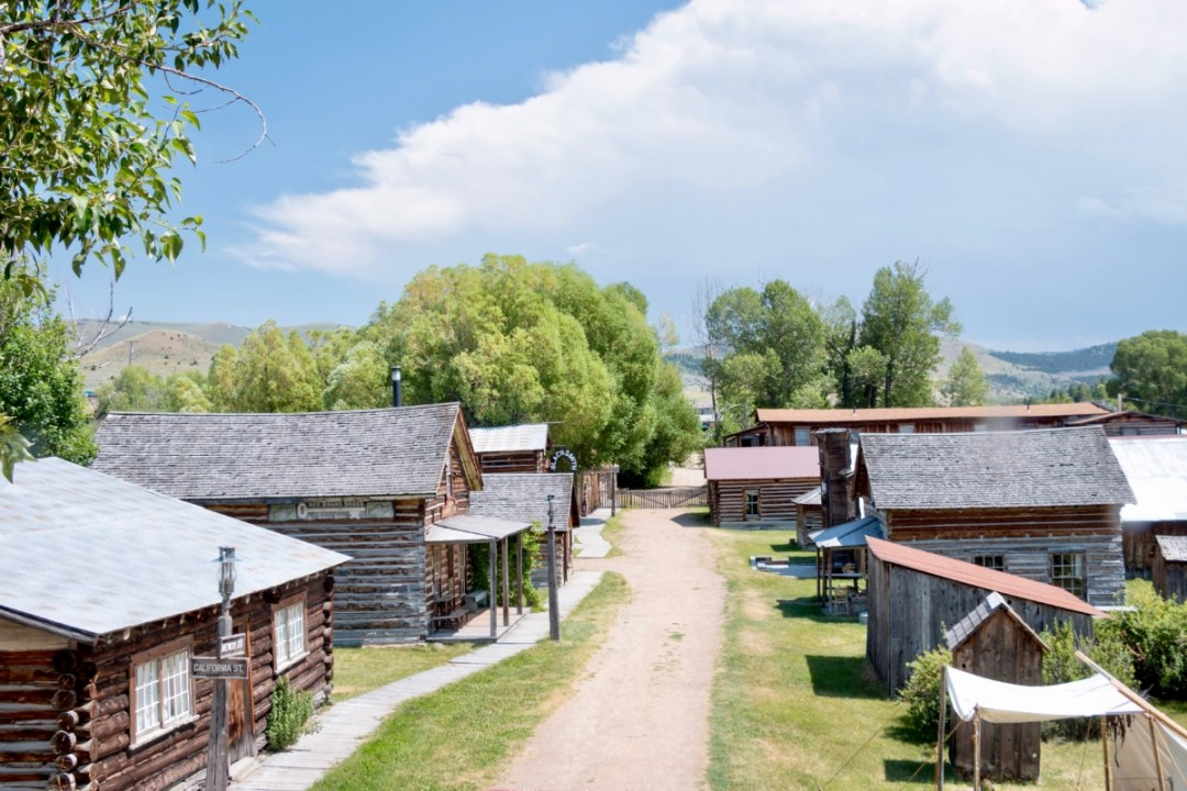 Nevada City Overview - Two Montana Ghost Towns Where the Old West Comes Alive