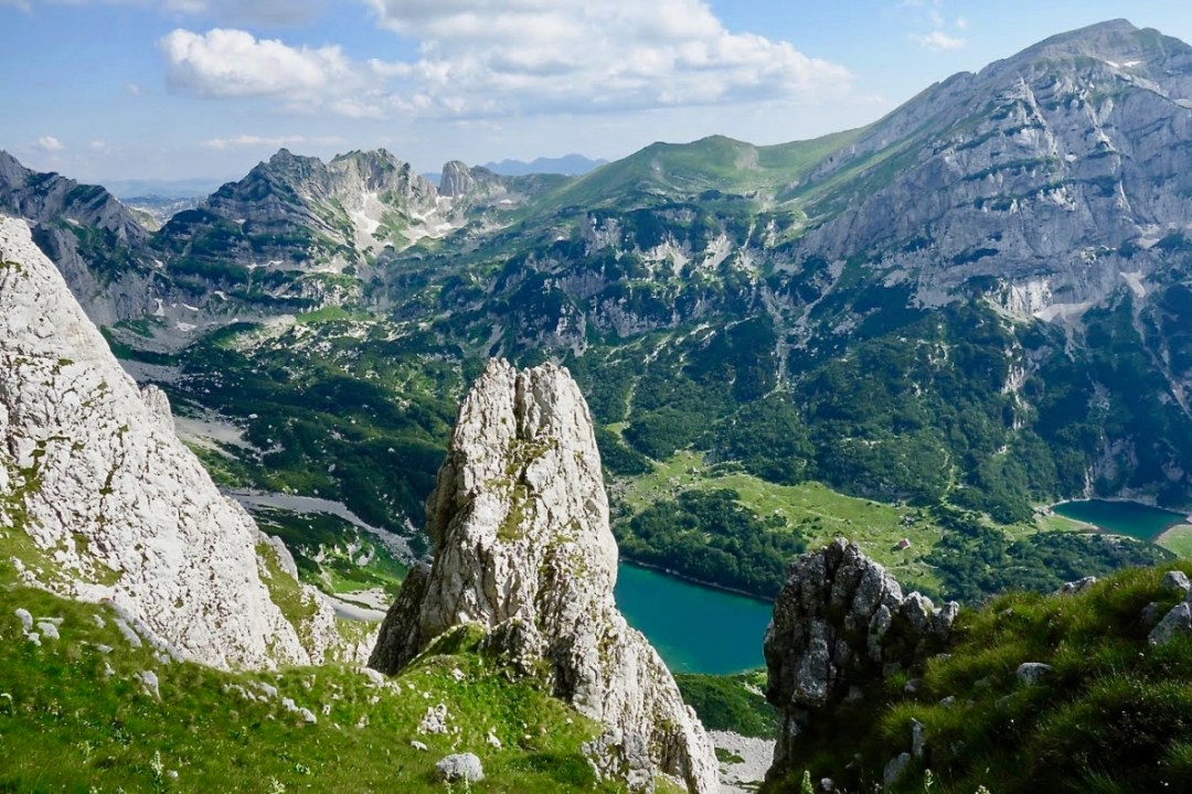 Rock with lake - Roadtripping, Hiking & Camping Montenegro Best Places