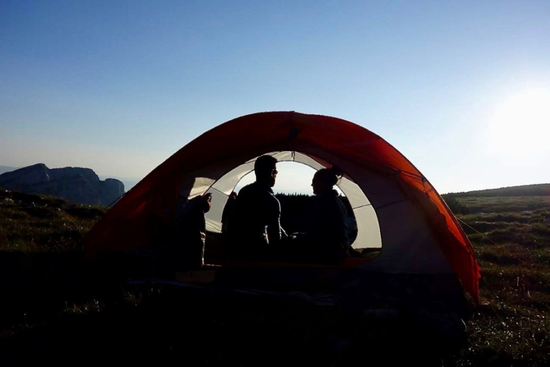 Tent silhouettejpg - Roadtripping, Hiking & Camping Montenegro Best Places