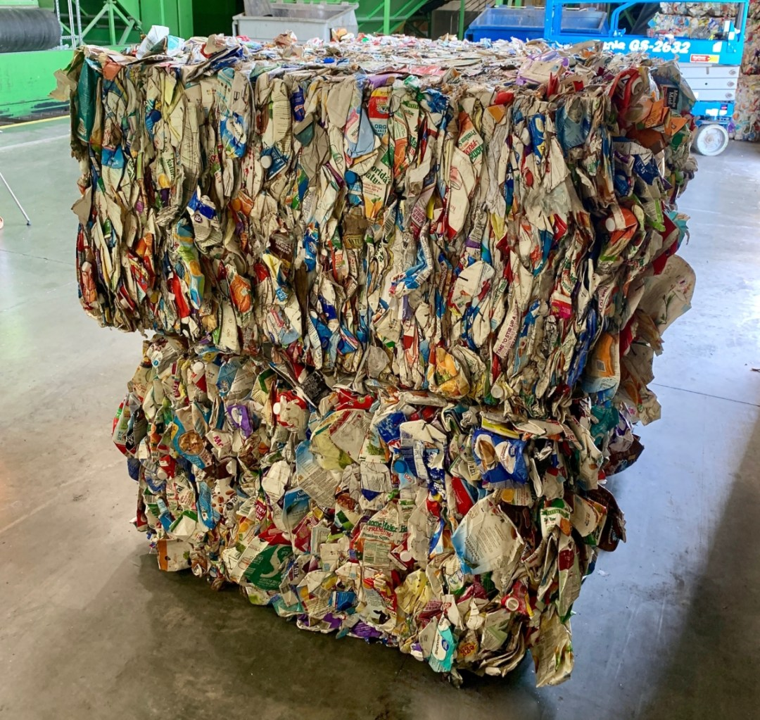 Cartons Recycling Bale - Are Milk Cartons Recyclable?: A Guide for Consumers