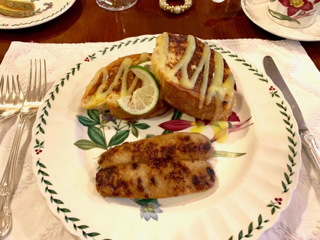 Lime Stuffed French Toast Graystone Inn - Wilmington, North Carolina: Hooray for Hollywood & Hometown Hospitality!