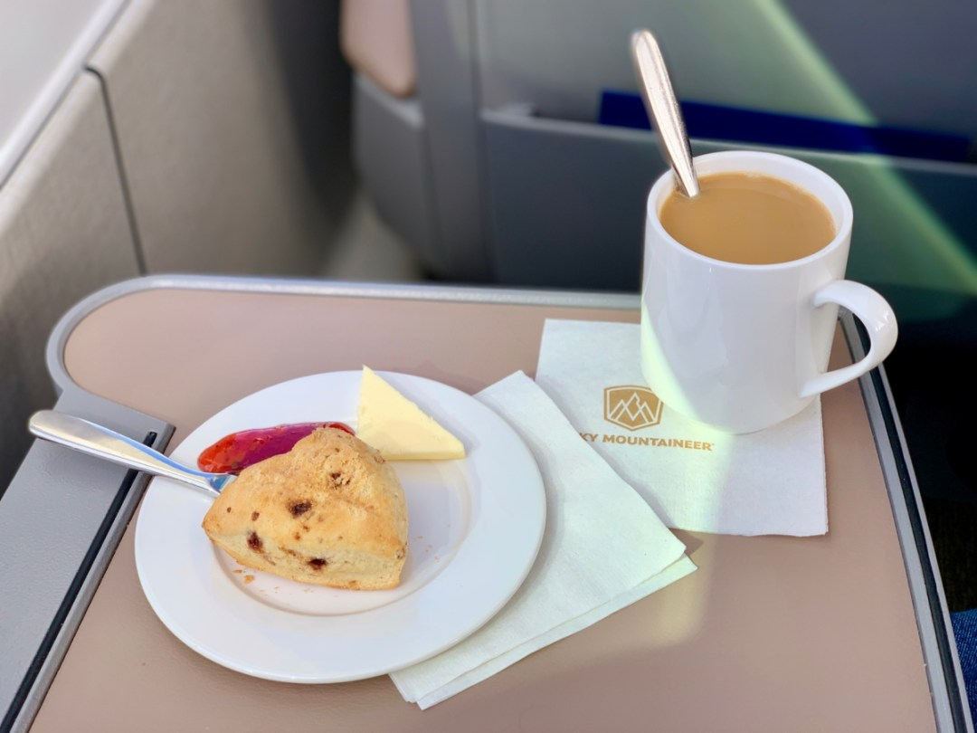 Rocky Mountaineer Tea and Scone - All Aboard the Rocky Mountaineer! An Insider's Guide to Your Journey by Rail