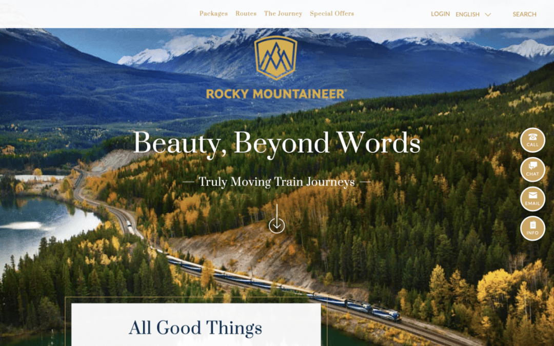 Rocky Mountaineer Train Website - All Aboard the Rocky Mountaineer! An Insider's Guide to Your Journey by Rail