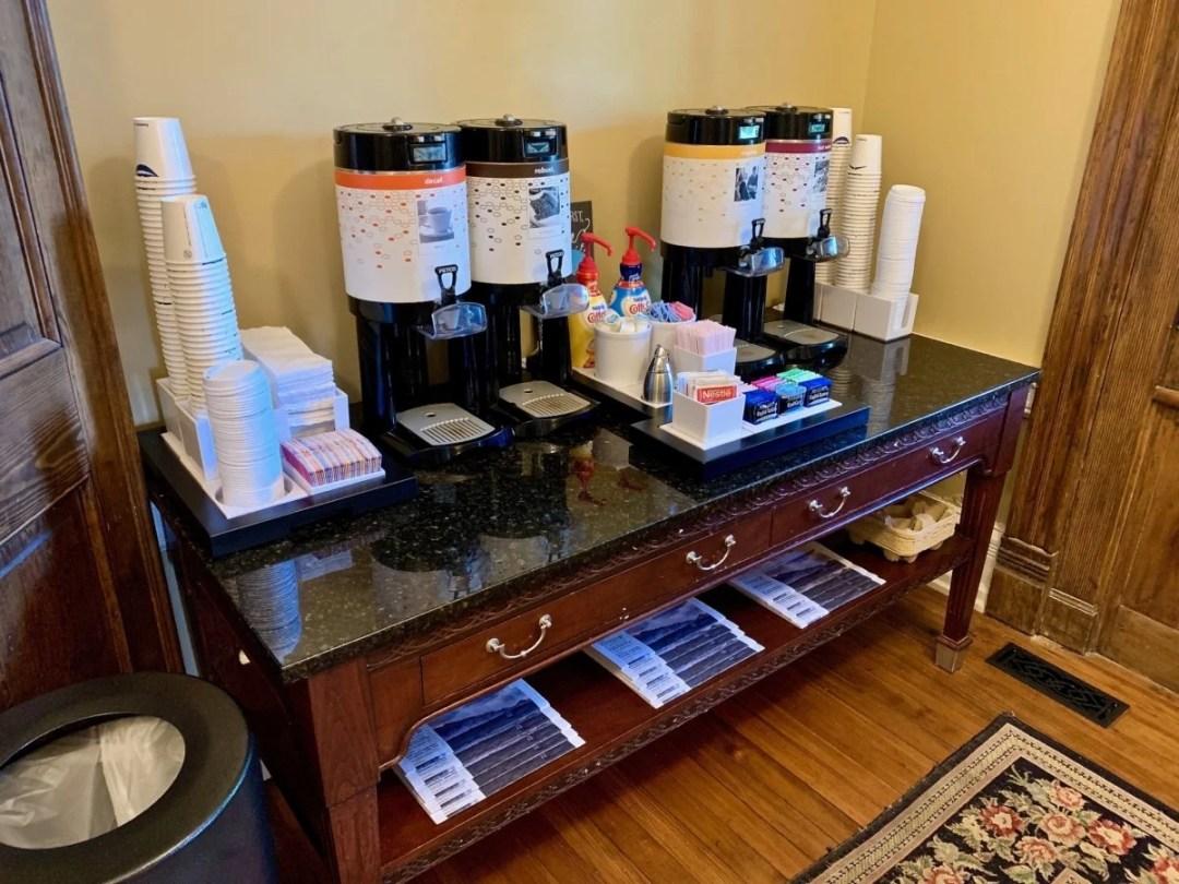 Hampton Inn Col Alto Coffee Station - Scenic & Historic Things to Do in Lexington, Virginia