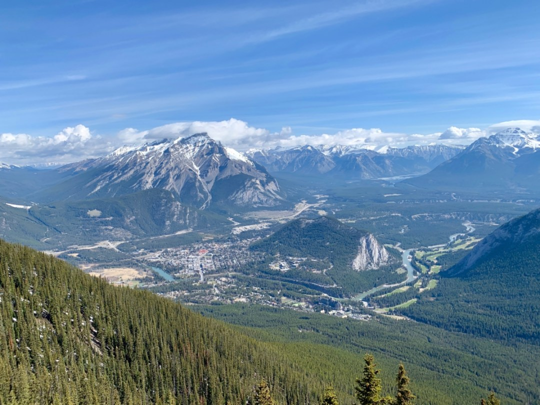 View of Banff from Sulphur Mountain - The Best Sites & Activities for a Town of Banff Adventure