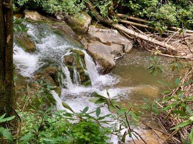 Falls on Moccasin Creek