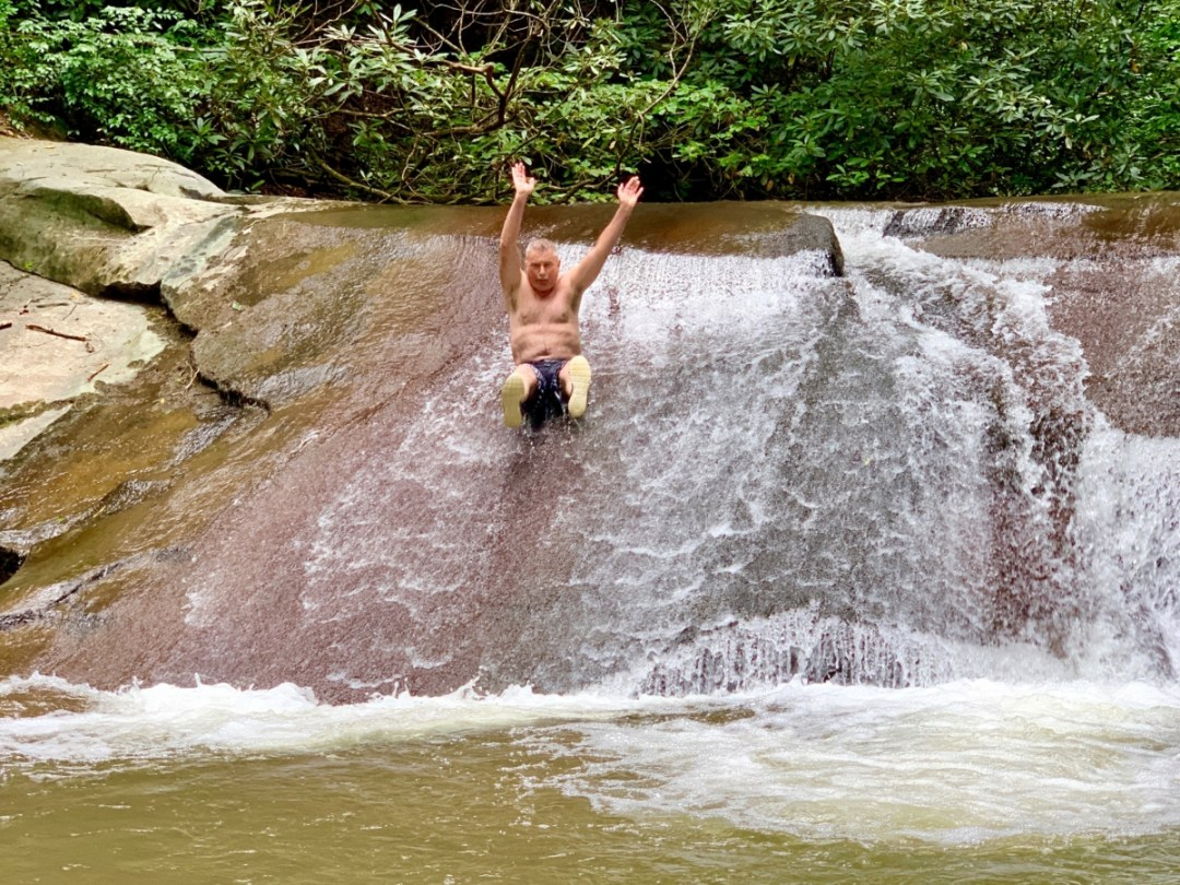 Jerry Wildcat Creek Sliding Rock - North Georgia Swimming Holes & Waterfalls You Can Swim In