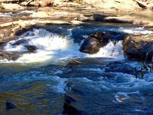 Pools Above Dicks Creek Falls