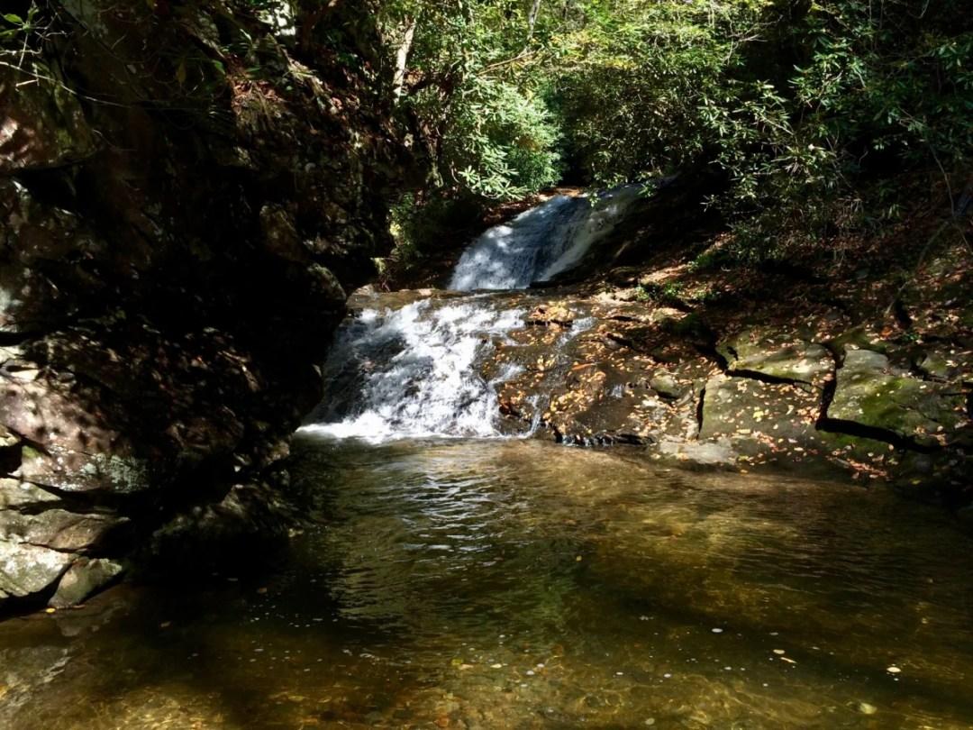 Sea Creek Falls 2 - North Georgia Swimming Holes & Waterfalls You Can Swim In
