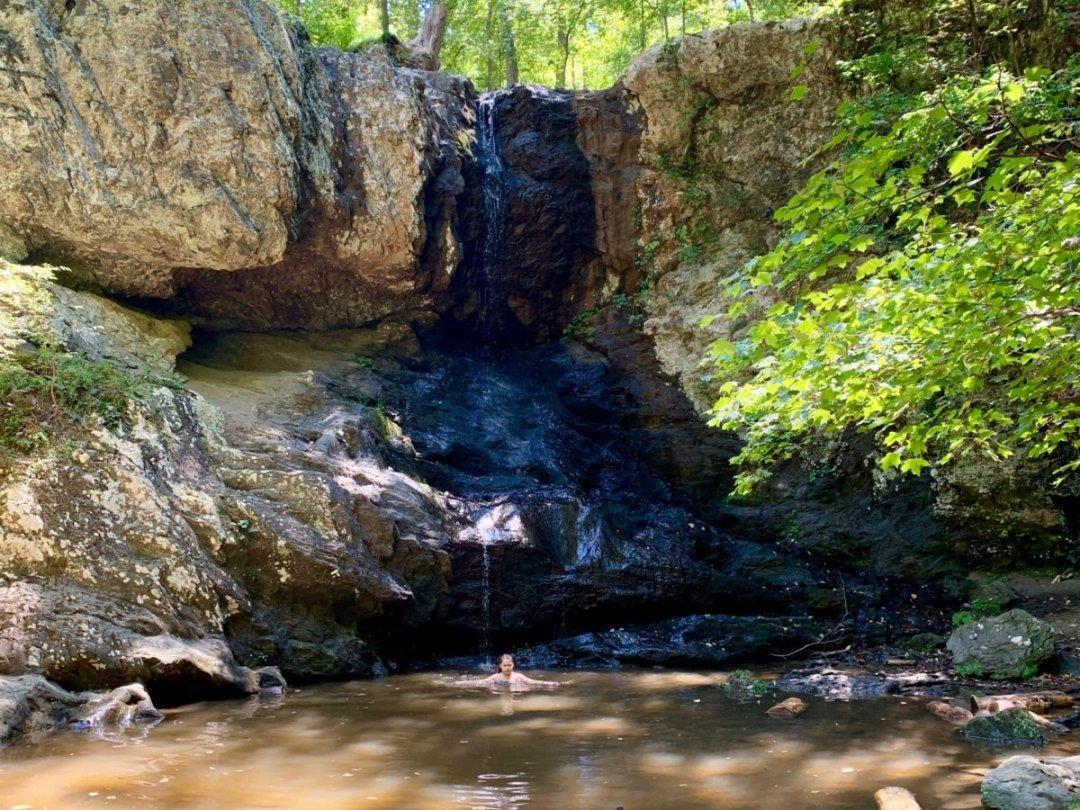 Swimming Hole High Shoals Falls Dallas Georgia - North Georgia Swimming Holes & Waterfalls You Can Swim In