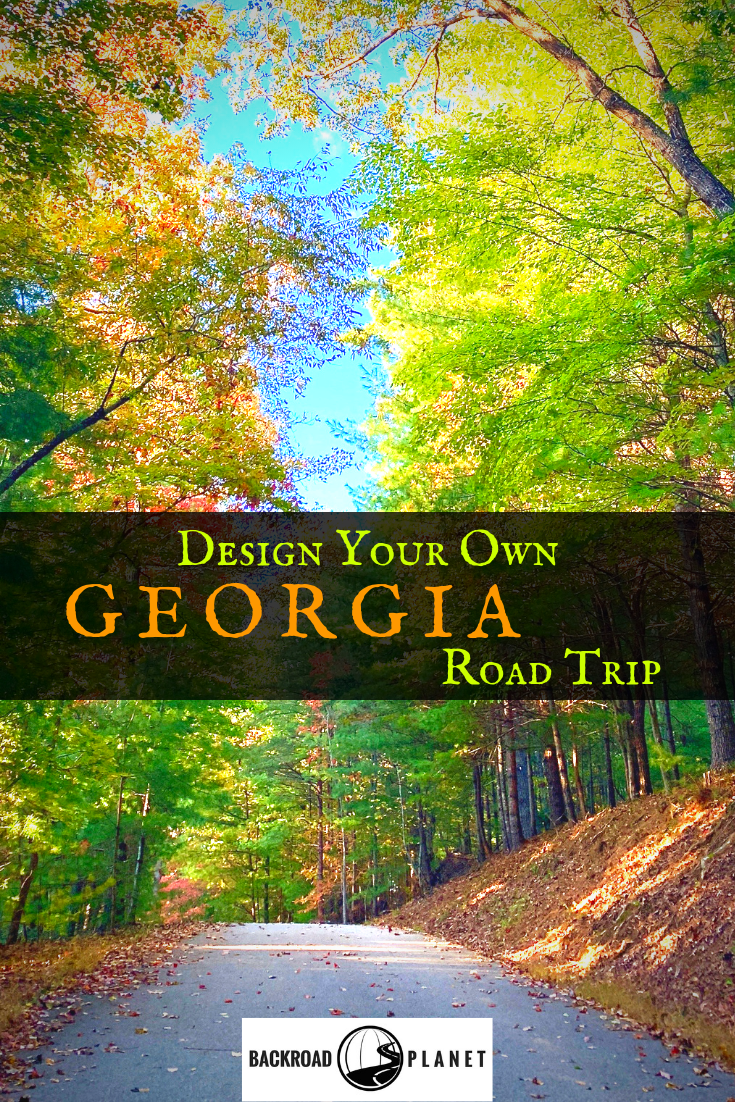 Georgia Road Trip Pinterest - Design Your Own Georgia Road Trip (USA)