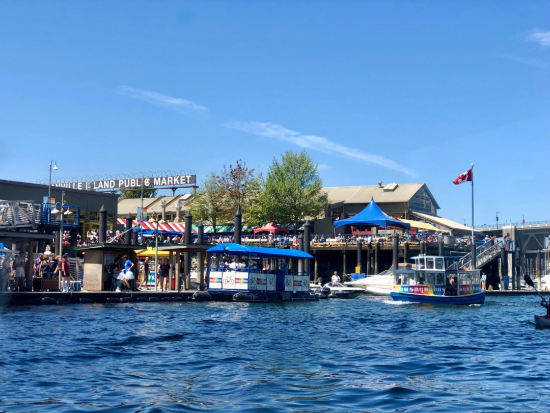 Granville Island Public Market - Tour Capilano Suspension Bridge Park and See Vancouver in a Day