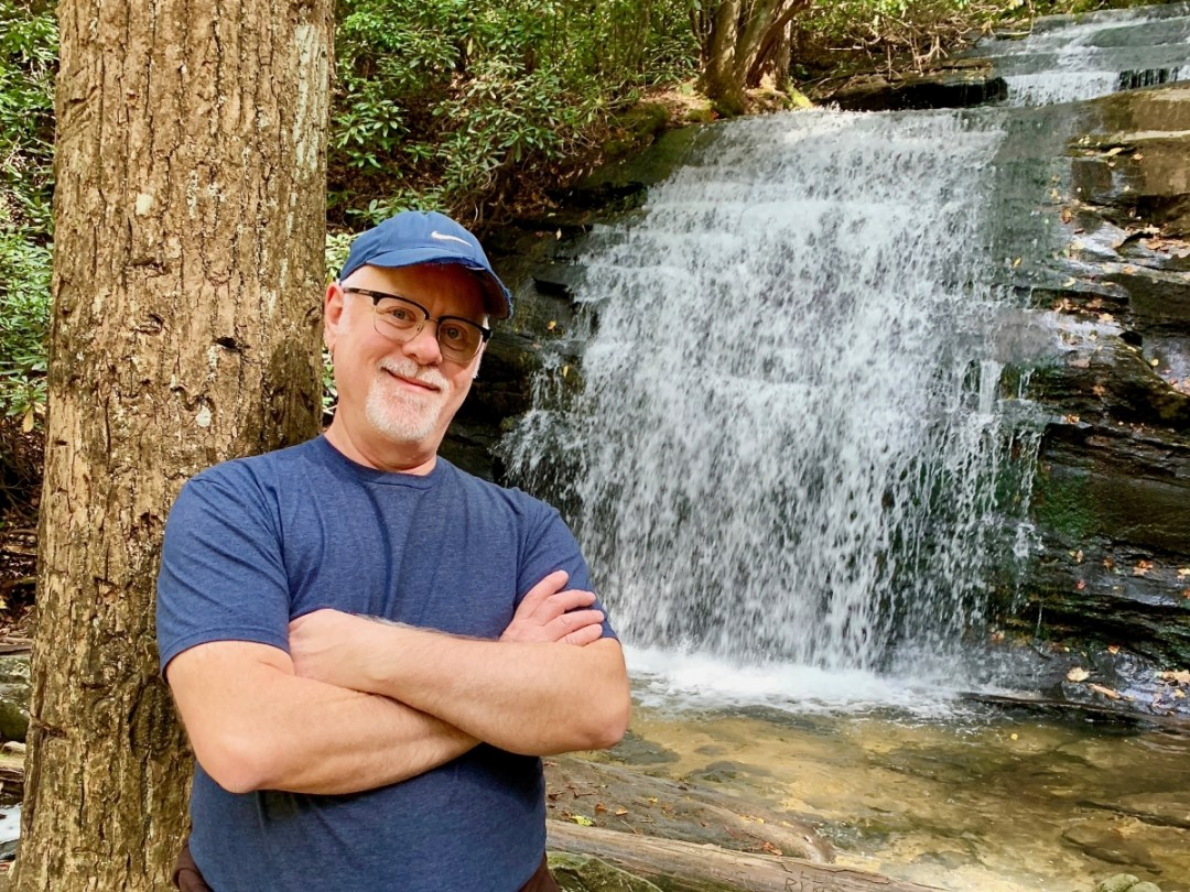 Howard Blount at Long Creek Falls  - Design Your Own Georgia Road Trip | USA