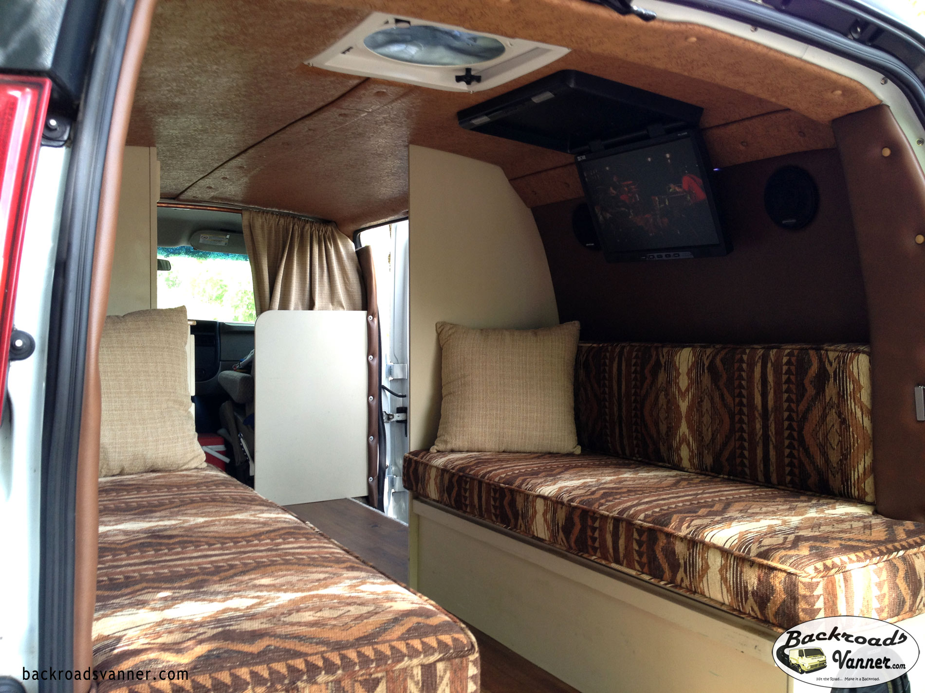 hight resolution of video diy custom camper van insulation and upholstery backroadsvanner com