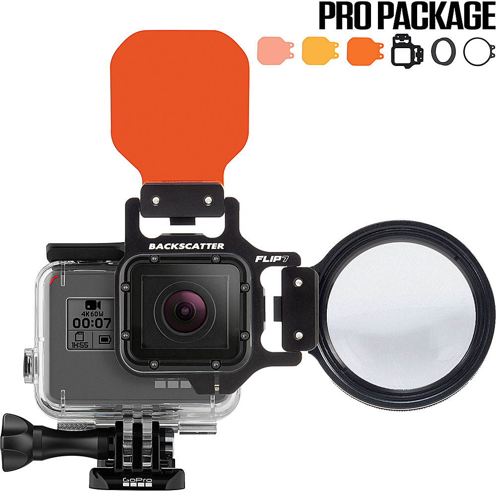 hight resolution of flip7 pro package with shallow dive deep filters 15 macromate mini lens for gopro 3