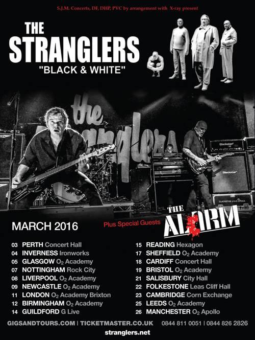 Stanglers B&W tour