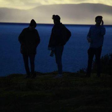 Promo photo of silhouette of Stillhound band