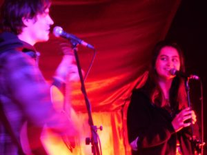 Corey and Jasmine at The Islington
