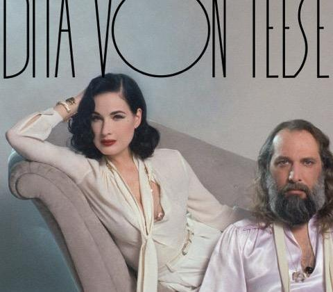 Dita Von Teese and Sébastien Tellier