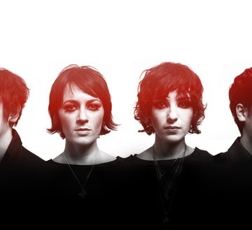 Promo image of Ladytron for The Animals single release