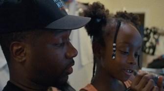 Jahmal and his daughter