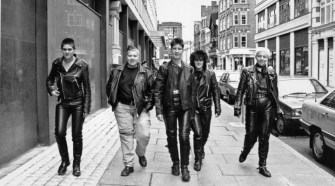 Group on the streets of London