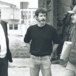 Alan Ladd and George Lucas
