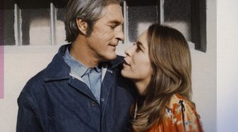 Timothy Leary and Joanna Harcourt-Smith