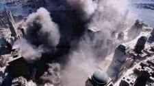 The WTC on fire
