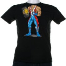plain-black-t-shirt-lucha-