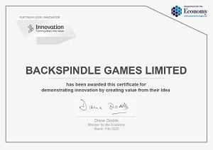Platinum level innovator