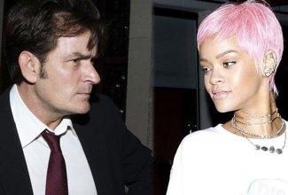 Rihanna - Charlie Sheen