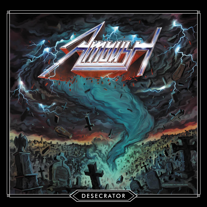 Ambush - Desecrator (2020, Green Vinyl, Vinyl)   Discogs