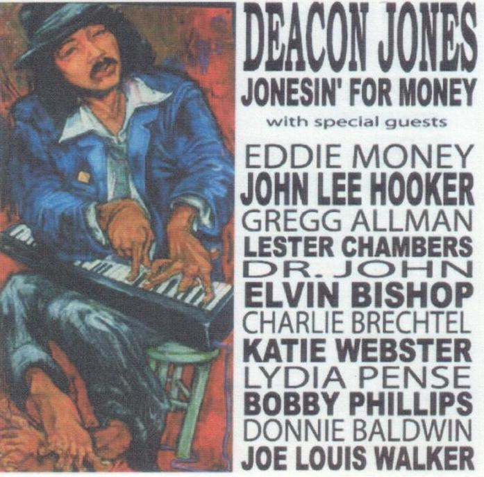 Jonesin' For Money - Deacon Jones and featured artists (PRNewsFoto/D7 Sounds, LLC)