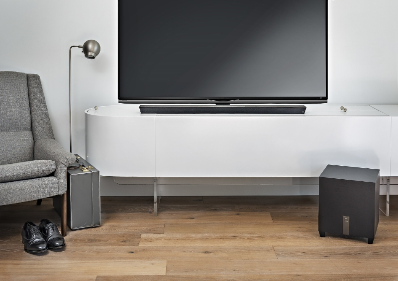Definitive Technology Debuts Its Lowest Profile Sound Bar To Date (PRNewsFoto/Definitive Technology)