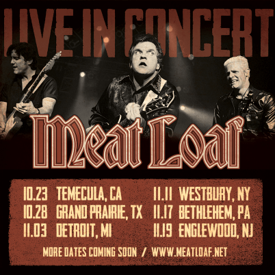 Meat Loaf Tour Cover